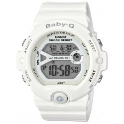 Casio Ladies Baby-G Runners White Rubber Digital Watch BG-6903-7BER