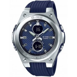 Casio G-Shock Baby-G G-MS Dual Display Blue Plastic Strap Watch MSG-C100-2AER