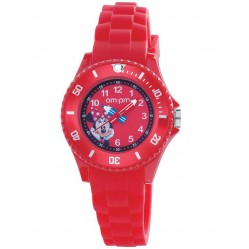 Disney Kids Minnie Mouse Red Watch DP154-K342