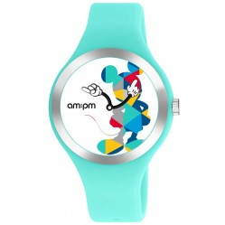 Disney Kids Mickey Mouse Light Blue Watch DP155-U531