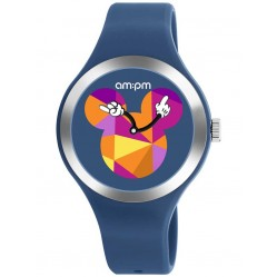 Disney Kids Mickey Mouse Dark Blue Watch DP155-U536