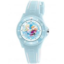 Disney Kids Elsa and Anna Blue Watch DP186-K465