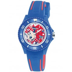 Disney Kids Minnie Mouse Blue Watch DP186-K475