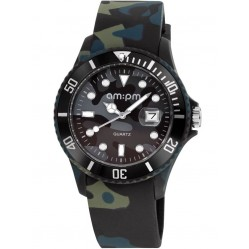 am:pm Club Dark Jungle Camouflage Watch PM139-G295