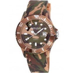 am:pm Club Brown Desert Camouflage Watch PM139-G294