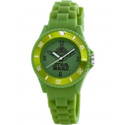 am:pm Green Star Wars Yoda Watch SP156-K359