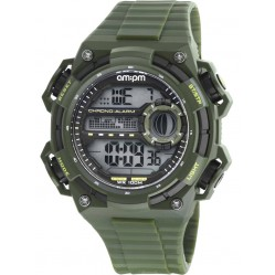 am:pm Dark Green Digital Watch PC163-G395