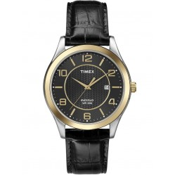 Timex Mens Traditional Two Tone Strap Watch T2P450