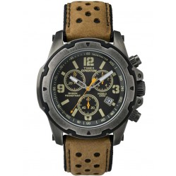 Timex Mens Expedition Tan Leather Watch TW4B01500
