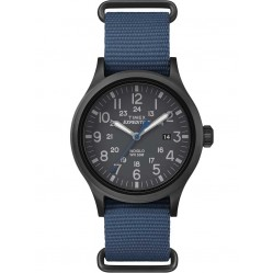 Timex Mens Expedition Blue Strap Watch TW4B04800