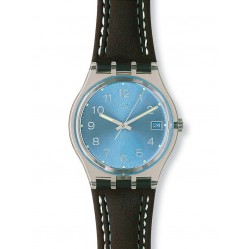 Swatch Unisex Blue Dial Watch GM415