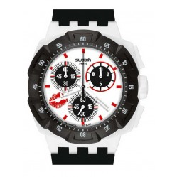 Swatch Mens Snowkiss Watch SUKW100