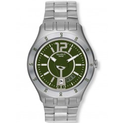 Swatch Unisex In A Green Mode Watch YTS407G