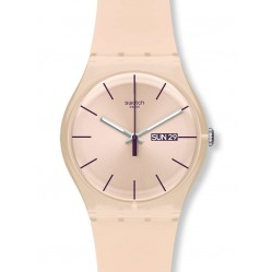 Swatch Unisex Rose Rebel Watch SUOT700