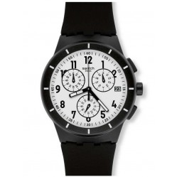 Swatch Unisex Twice Again Black SUSB401