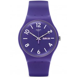 Swatch Unisex Backup Purple Watch SUOV703
