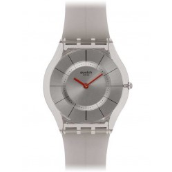 Swatch Unisex Skin Ghost Strap Watch SFM129