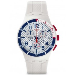 Swatch Mens Chronoplastic Speed Up Strap Watch SUSM401