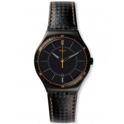 Swatch Mens Irony Big Carbonata Watch YWB401