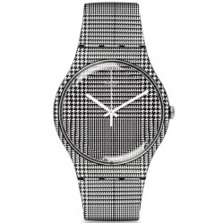 Swatch Unisex For The Love Of W Strap Watch SUOB113