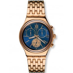 Swatch Mens Blue Win Chronograph YCG409G