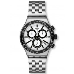 Swatch Men's Destination Rotterdam Steel Watch YVS416G