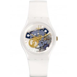 Swatch Men's Mariniere White Watch GW169