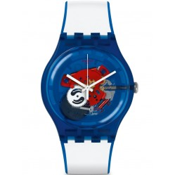 Swatch Clownflish Blue Watch SUON112