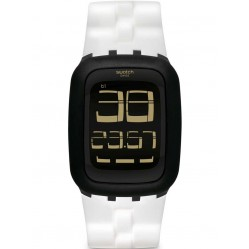 Swatch Unisex Speed It Up Digital Strap Watch SURB119