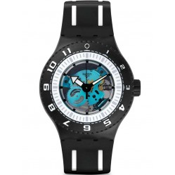 Swatch Mens Feel The Sea Divers Watch SUUB101