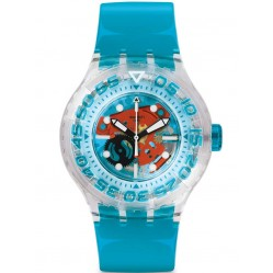 Swatch Unisex O-Tini Divers Strap Watch SUUK103