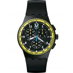 Swatch Mens Sifnos Chronograph Strap Watch SUSB404