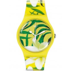 Swatch Unisex Limbo Dance Strap Watch SUOJ104