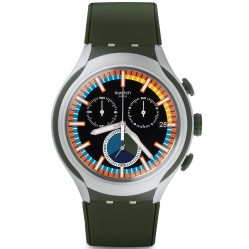 Swatch Mens Moss Chronograph Strap Watch YYS4009