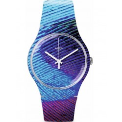 Swatch Unisex Peacobello Watch SUOK113