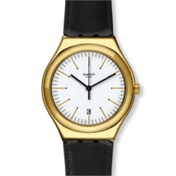 Swatch Mens Edgy Time Watch YWG404