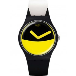 Swatch Unisex Flaggermus Strap Watch SUOB130
