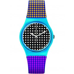 Swatch Unisex Behind The Wall Strap Watch GS146