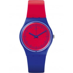 Swatch Blue Loop Strap Watch GS148