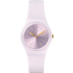 Swatch Ladies Guimauve Pink Strap Watch GP148