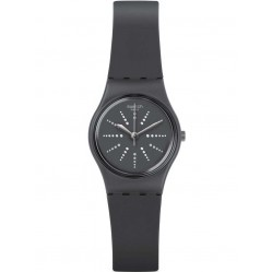 Swatch Chesera Grey Strap Watch LM141