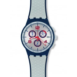 Swatch Mens Humpy Bumpy Chronograph Strap Watch SUSN411