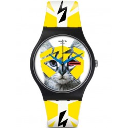 Swatch Electrochat Watch SUOB135