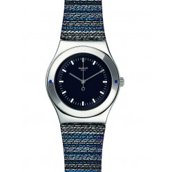 Swatch Mens Seaflash Blue Strap Watch YLS194