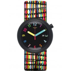 Swatch Crazypop Strap Watch PNB400