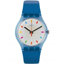 Swatch Color Square Watch SUON125