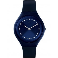 Swatch Skinsparks Blue Rubber Strap Watch SVUN100