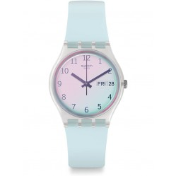 Swatch Ultraciel Blue Rubber Strap Watch GE713