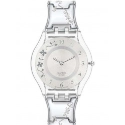 Swatch Ladies Climber Flower Watch SFK300G