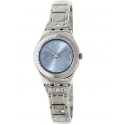 Swatch Ladies Steel Stone Watch YSS222G
